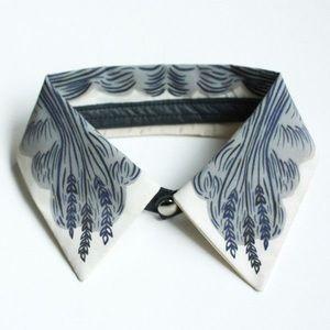 Accessories - Jen Storey Silk Collar